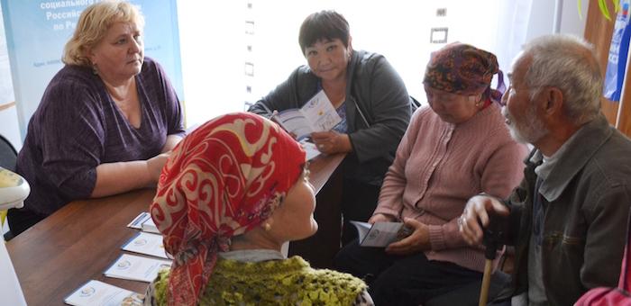 Выездная приемная Фонда социального страхования побывала в Шебалинском районе