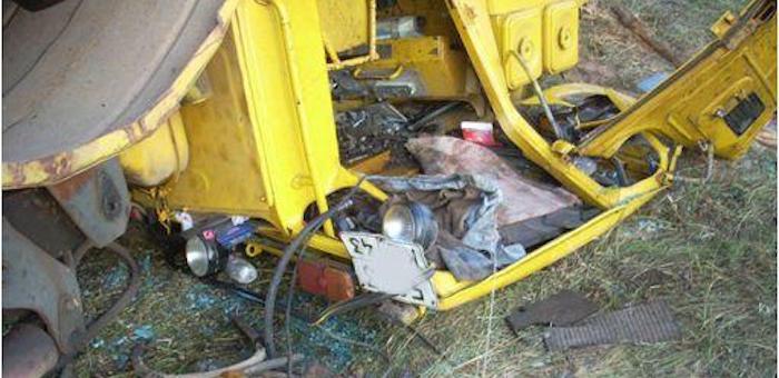 Тракторист погиб в результате несчастного случая