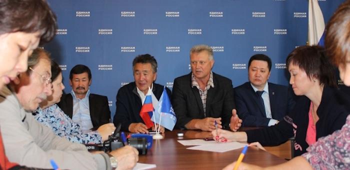 Единороссы провели пресс-конференцию по итогам выборов