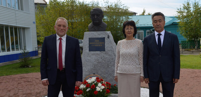 В Горно-Алтайске открыли бюст Льва Гумилева (фото)