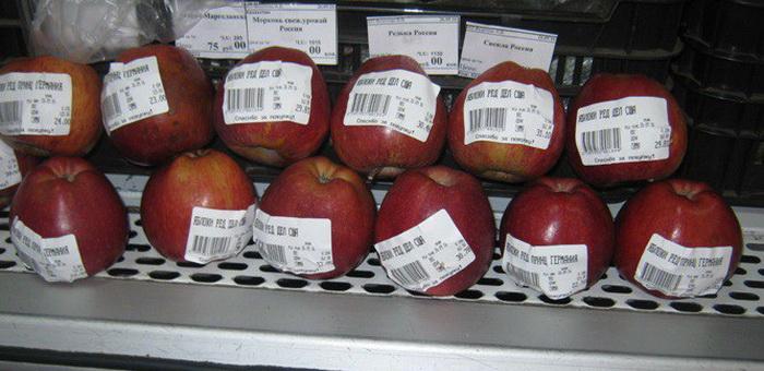 2,5 кг подсанкционных яблок уничтожили на заводе по переработке ТБО