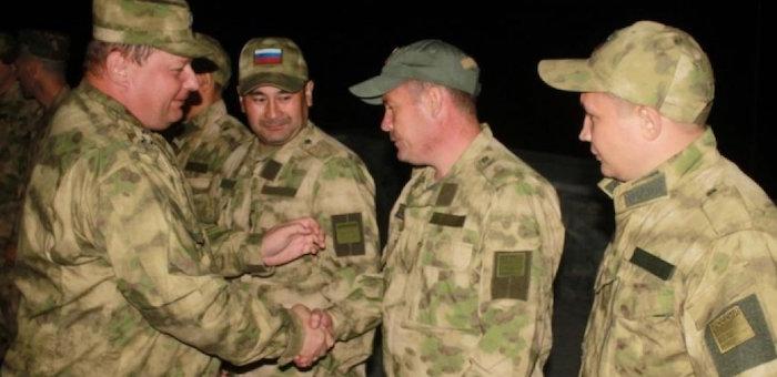Горно-алтайские собровцы вернулись из Дагестана