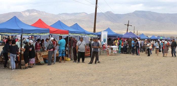 4,5 тыс. человек посетили международную ярмарку в Кош-Агаче