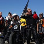 Фотофакт: 200 мотоциклистов проехали вдоль Белого Бома