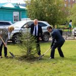 Около ГАГУ появился сквер Льва Гумилева
