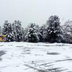 Фотофакт: В горах Алтая выпал первый снег