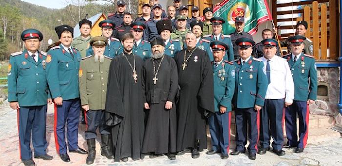 В Чемальском районе прошел сбор казаков Республики Алтай и Новосибирской области
