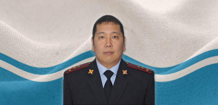 Лучшим участковым Республики Алтай стал Айас Язакчинов