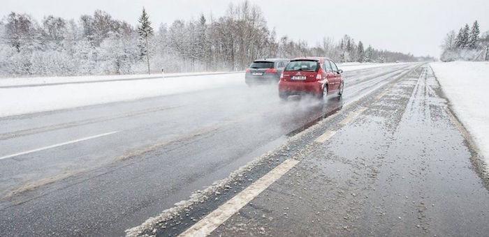 Водителей предупреждают об опасности ДТП из-за ухудшения погоды