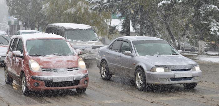 МЧС предупреждает о возможном росте аварийности на дорогах