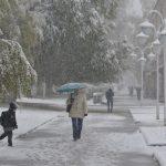 Сильный снегопад обрушился на Горно-Алтайск (фото)