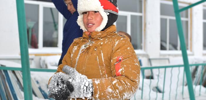 При сильном морозе дети могут не ходить в школу