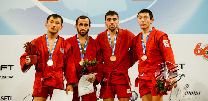 Аймерген Аткунов завоевал «бронзу» чемпионата мира