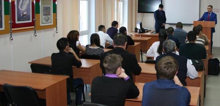 Следователи рассказали студентам о методах опознания