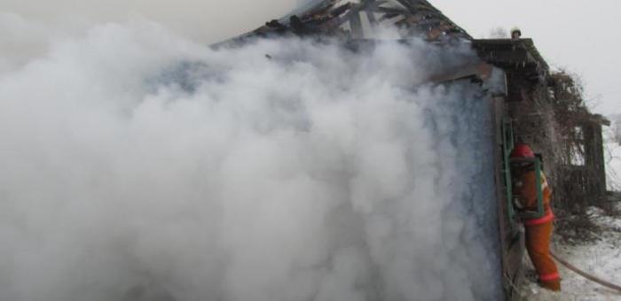 Маленькие дети сгорели на пожаре в Новом Бельтире