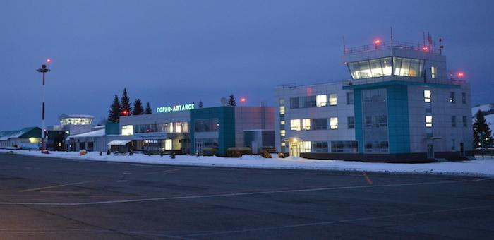 Единый транспортный узел на базе аэропорта создадут в Республике Алтай