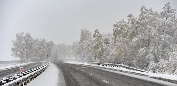 На Алтае устраняют последствия снегопадов