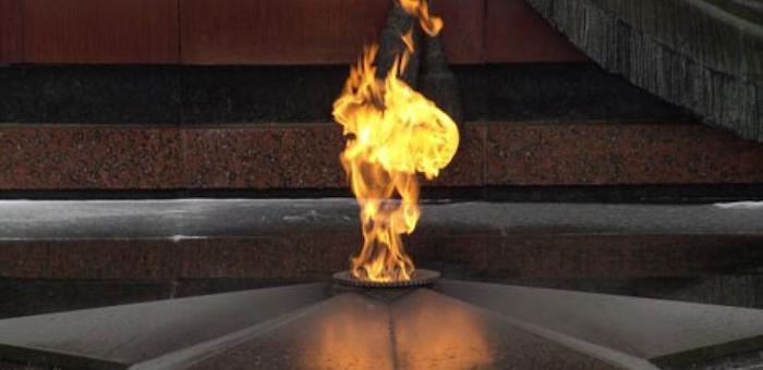 Подросток совершил акт вандализма на Мемориале Победы