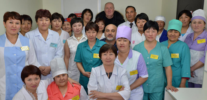 В Джазаторе открыли участковую больницу (фото)