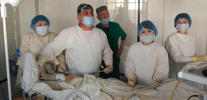 В Кош-Агачской районной больнице внедряют эндоскопическую хирургию