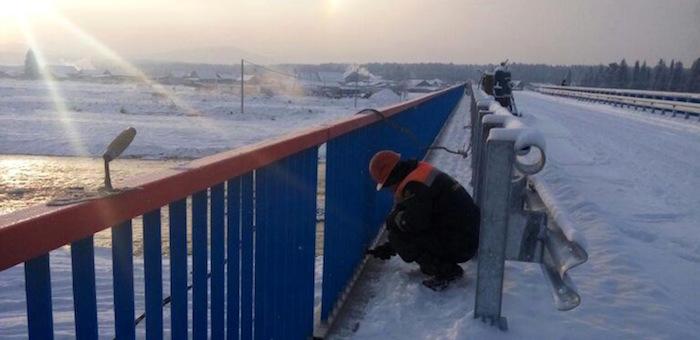 В Чойском районе завершается строительство нового моста