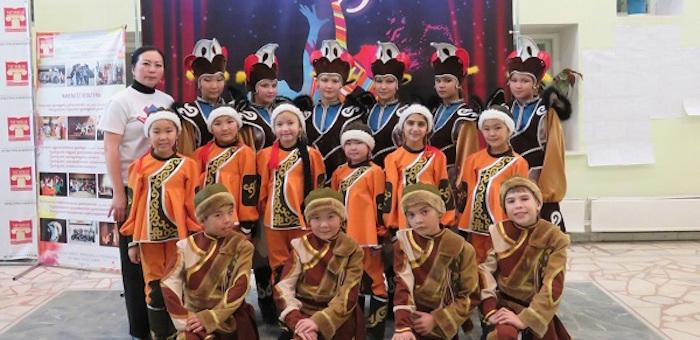 Ансамбль «Эрдине» стал лауреатом международного хореографического фестиваля