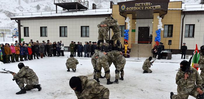 Новый пограничный городок открыли в Карагае (фото)