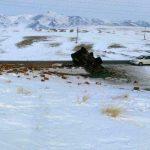 Фотофакт: Грузовик перевернулся в Кош-Агачском районе