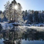 Ноябрь поставил рекорд по морозам и снегопадам