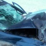 Лобовое столкновение на Чуйском тракте: шесть человек оказались в больнице (фото)