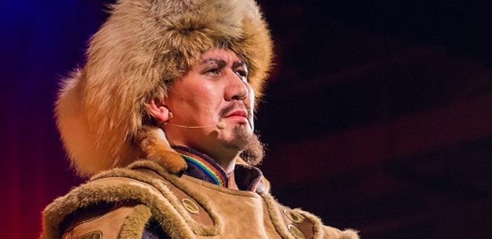 Артур Марлужоков спел в хакасской опере