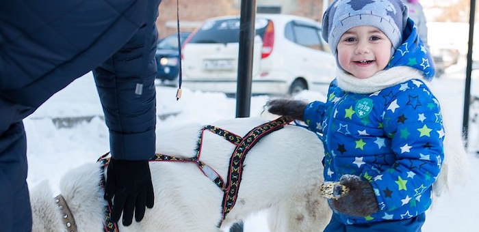Российский детский фонд поздравил детей Республики Алтай с Новым годом