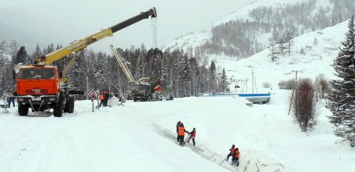 Завершается строительство моста через Мульту
