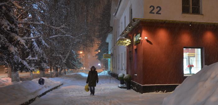 На основных магистралях в Горно-Алтайске не будут отключать освещение