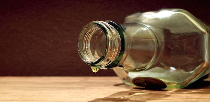 За новогодние каникулы алкоголем отравился всего один человек