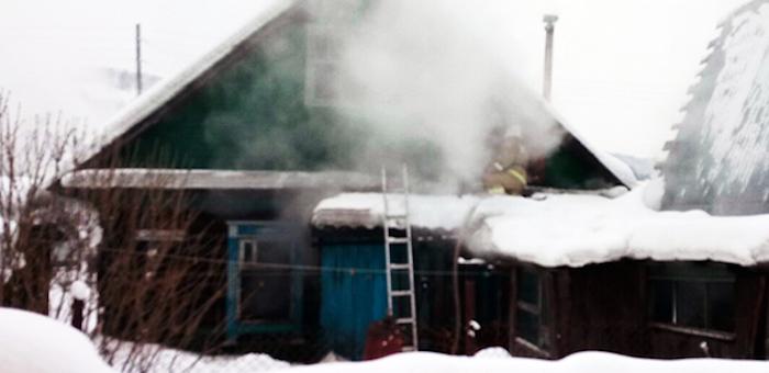 Инвалид погиб на пожаре из-за курения