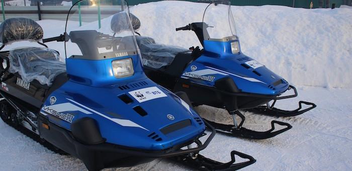 Особо охраняемые территории Горного Алтая получили снегоходы