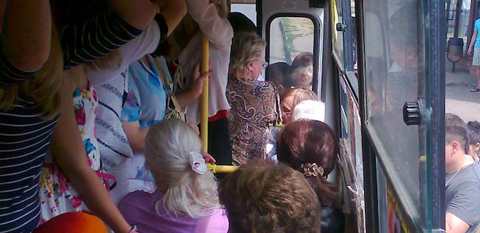 Водителям автобусов запретили включать в салоне музыку «на полную катушку»