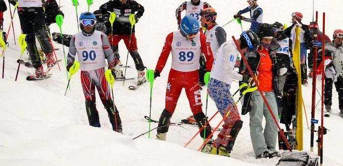 В Горно-Алтайске прошел этап Кубка Сибири по горнолыжному спорту