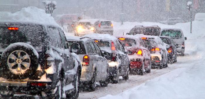 Штормовое предупреждение объявлено на 10 февраля в Республике Алтай