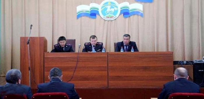Назначен начальник улаганского отделения полиции