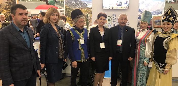 Республика Алтай приняла участие в выставке «Интурмаркет-2017»