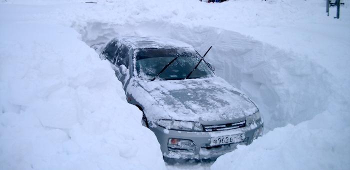 Запасы снега в горах Алтая в 2,5 раза превышают норму