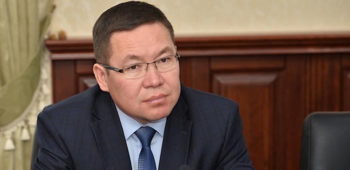 Эжер Ялбаков ушел в отставку