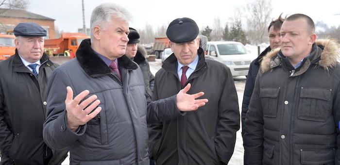 Заместитель полпреда президента в Сибири проверил, как Алтай готовится к половодью