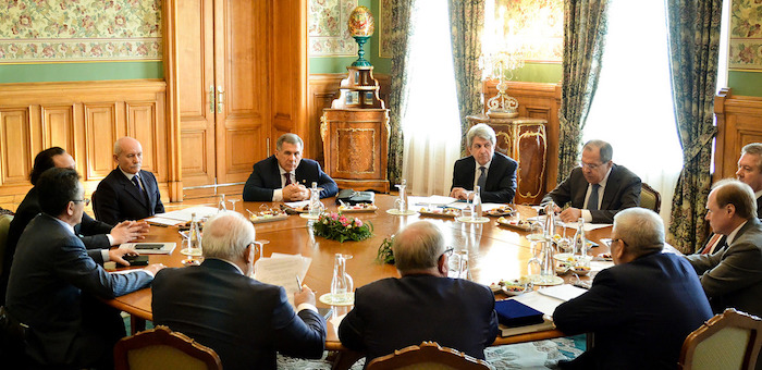 Глава Горного Алтая принял участие во встрече Сергея Лаврова с губернаторами