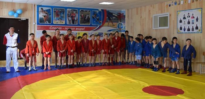 Новый спортивный зал открыли в Чибиле