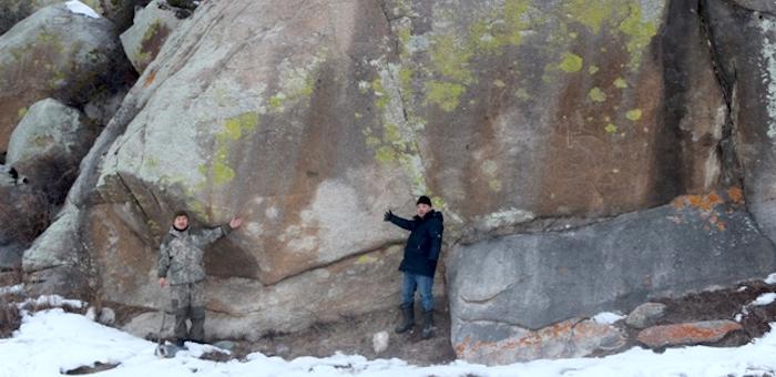 Около Малого Яломана обнаружены самые большие петроглифы на Алтае