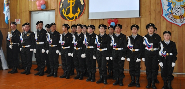 В Кара-Кудюре открылся военно-патриотический клуб морских пехотинцев «Барс»