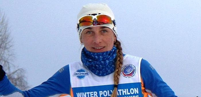 Вера Водолеева стала бронзовым призером Кубка мира по зимнему полиатлону